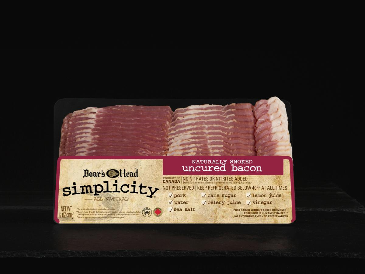 Simplicity 174 All Natural Uncured Bacon Boar S Head