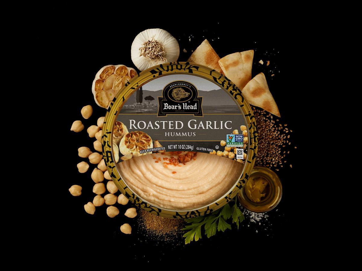 Roasted Garlic Hummus   Boar's Head
