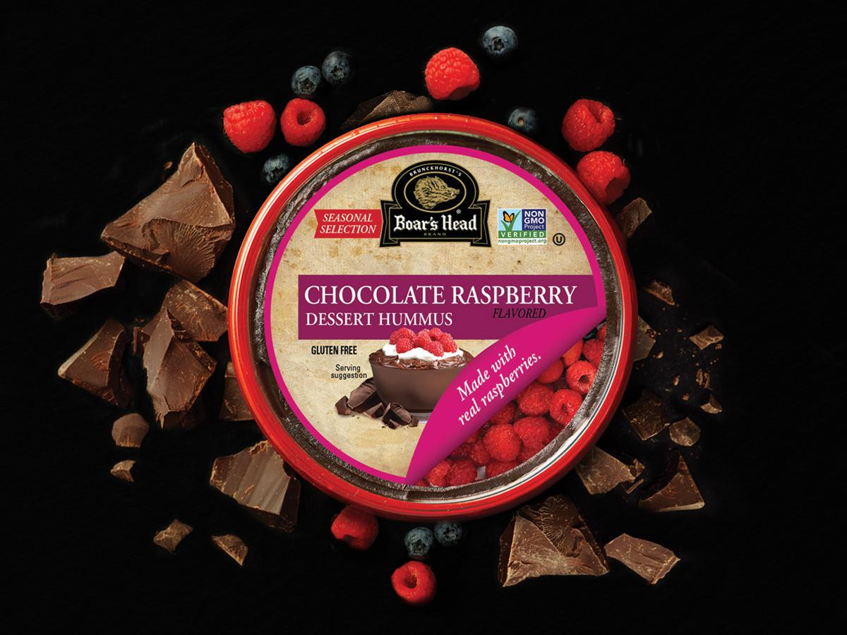 Chocolate Raspberry Dessert Hummus Boar S Head