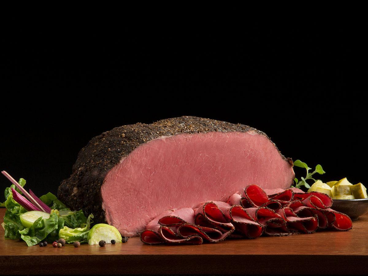 Cap Off Top Round Pastrami Boar S Head