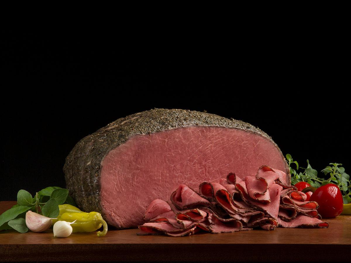 Italian Style Seasoned Beef With Braciole Seasoning Boar S Head