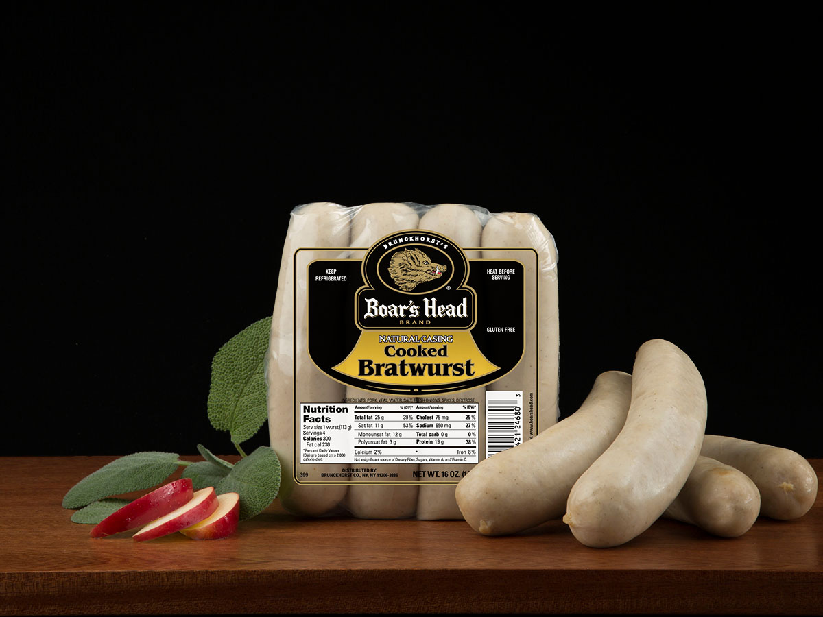 how to cook boars head bratwurst
