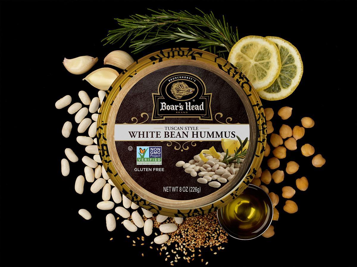 Tuscan Style White Bean Hummus   Boar's Head