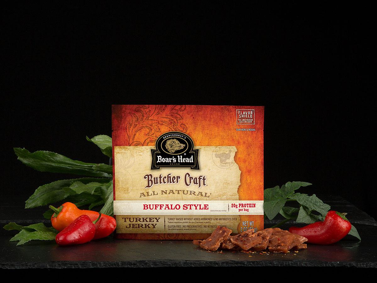 Butcher Craft® Buffalo Style All Natural* Turkey Jerky | Boar's Head