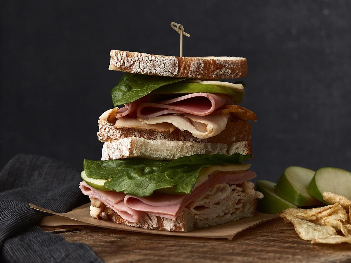 Ovengold 174 Turkey Amp Branded Deluxe Ham Sandwich Recipe Boar S Head